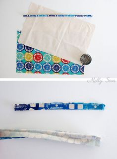 Sew a DIY pencil roll, which can also be made into a crayon roll or hold knitting needles or brushes - so many possibilities! Roll Up Pencil Case, Diy Pencil Case, Crayon Roll Tutorial, Diy Tutorial, Cute Crafts, Diy And Crafts, Sewing Ideas, Sewing Crafts, Diy Crayons