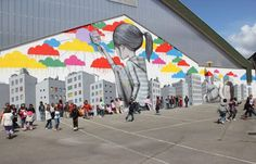 Boş Sokakları Harika Sanat Eserlerine Çeviren Fransız Sokak Sanatçısı