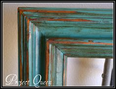 frame - provence with dark wax - love the color