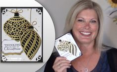 VIDEO: Delicate Ornament Glimmer Christmas Wow Card | Stampin Up Demonstrator - Tami White - Stamp With Tami Crafting and Card-Making Stampin Up blog