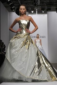 Georges Chakra Couture Spring Summer 2017 Kthis Post Has 233 Notes Tthis Was Posted 2 Weeks Fantasy Gownsprincess Wedding