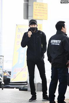 151016 EXO Chanyeol | Incheon Airport to Guangzhou Airport