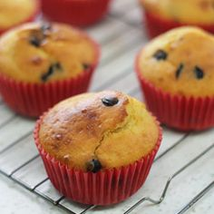 At only 150 calories a pop, these skinny orange choc-chip muffins are the perfect morning treat alongside a cup of tea.