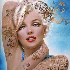 Theo Danella´s MARILYN in ART: www.facebook.com/TheoDanella   ✿   ART Shops:    http://www.pvz.net  www.redbubble.com/people/theodanella ✿ #marilynmonroe #marilyn #normajean #woman #blonde #beauty #beautiful #blueeyes #diva #icon #oilpainting #musthave #poster #art #decor #interiordesign