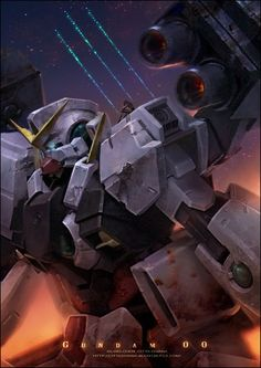 Amazing Gundam Artworks | Abduzeedo Design Inspiration