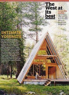 A Frame Cabin, Yosemite