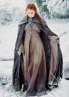 dailysturner:  Sansa Stark in Game of Thrones Season 6 [x]
