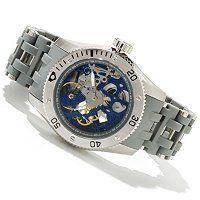 Invicta Men's Sea Spider Mechanical Bracelet Watch w/ 3-Slot Dive Case ShopNBC.com