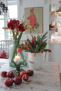 Good Absolutely Free , Suggestions Among the absolute most lovely and elegant kinds of flowers, we carefully selected the matching type Swedish Christmas, Scandinavian Christmas, Rustic Christmas, Christmas Time, Christmas Crafts, Christmas Decorations, Table Decorations, Holiday Decor, Scandinavian Living