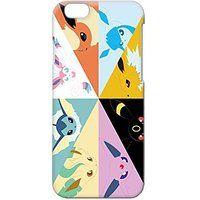 Cheap iPhone 6 Plus Case iPhone 6S Plus Cover Eevee Evolutions Pokemon Go 3D…