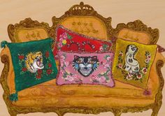 The design world went crazy yesterday over news that Gucci will launch a home collection in September. Remember when everyone went gaga (myself included) for the needlepoint cushions given to guests of their Resort 2017 show…? Well, now you can have one of your own! The collection, titled Gucci Décor, will include candles, cushions, chairs, …