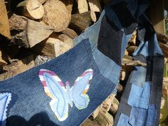 Out in the woods - Jean Jean Genius 1km of decorated denim on the move