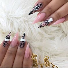 Thank you😍😍😍😍 In love with the Prettiest Pink by Beautiful Nail Art, Gorgeous Nails, Pretty Nails, Hot Nails, Pink Nails, Hair And Nails, New Nail Art, Cool Nail Art, Really Cute Nails