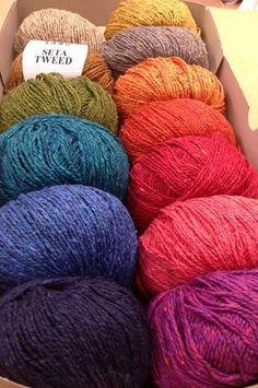 Seta Tweed de Lang Yarns