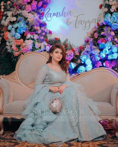 #pakistaniweddings #bridal #bride #pakistanifashion Asian Bridal Dresses, Asian Wedding Dress, Wedding Dresses, Beautiful Rose Flowers, Muslim Dress, Bridal Lehenga, Wedding Wear, Pakistani Dresses, Stylish Dresses