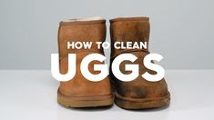 How To Clean Ugg Boots with Pratical Life Church's Shoes, Baby Shoes, Ava Paige, Water Spots, Shoe Tree, Drink Sleeves, Ugg Boots, Cleaning Hacks, Uggs
