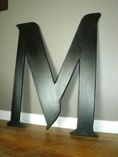 3 ft tall letter m