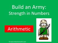 Build an Army: Arithmetic by MrBartonMaths - UK Teaching Resources - TES