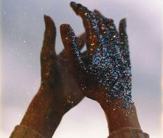 """""""put out the glitter that your souls hides behind"""" 