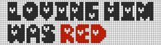 Alpha Friendship Bracelet Pattern #12569 - BraceletBook.com