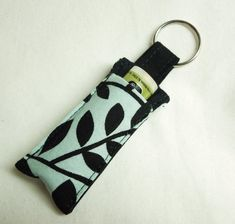 Chap Stick Holder Lip Balm key chain chapstick by thameowdesigns, $5.00