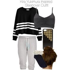 """Teen Wolf - Kira Yukimura Inspired Sleepover Outfit"" by staystronng on Polyvore"