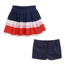 Stripe Flounce Skirt | Tommy Hilfiger USA
