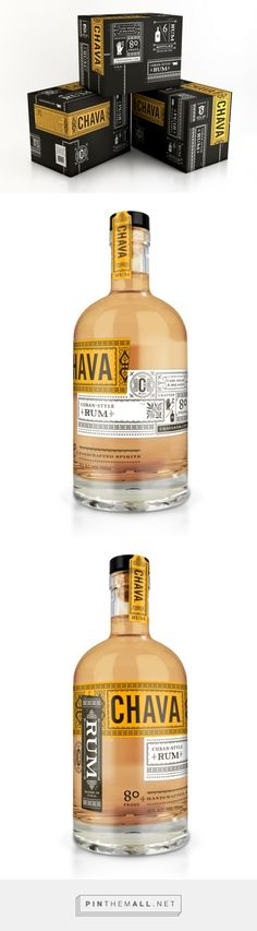 Chava Rum Packaging by Joel Kreutzer | Fivestar Branding – Design and Branding Agency & Inspiration Gallery