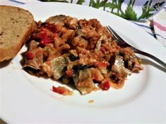 Šalát z kyslých sleďov bez majonézy (fotorecept) - Recept Beef, Food, Meat, Essen, Meals, Yemek, Eten, Steak