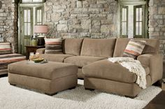 Jamocha Cocoa Sectional from Gardner-White Furniture #gw2win