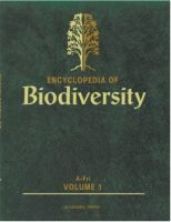 Encyclopedia of biodiversity [Recurso electrónico] / editor-in-chief Simon Asher Levin