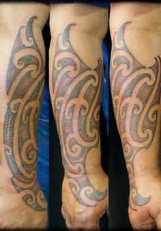 How do you like this tattoo? Maori Tattoo Designs, Forearm Tattoo Design, Ta Moko Tattoo, Different Tattoos, Tattoos Gallery, Color, Band, Ideas, Sash