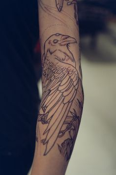 raven tattoo                                                                                                                                                                                 More