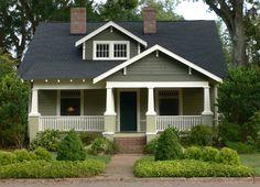 Green home exterior after update