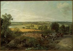 Stour Valley and Dedham Church about 1815 John Constable