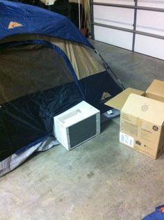 photographs of tent with air conditioners camping - google search