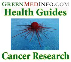There are thousands of studies on the National Library of Medicine concerning natural substances which have experimentally confirmed anti-cancer activity.