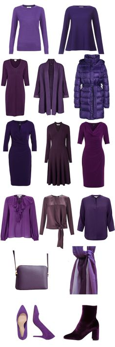 How to wear purple to suit your colouring find more on how to wear colour here http://www.lookingstylish.co.uk/category/wearing-colour-2/ #yourbestcolours #howtowearcolour #suityourcolouring