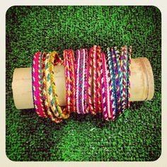 Handmade bracelets @ livinginternational.es