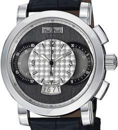 Paul Picot limited edition 200 stuks wereldwijd € 9500,- Exclusief Zwitsers horloge merk die alleen mechanisch horloges fabriceert van top kwaliteit. Deze Technograph is werkelijk schitterend. www.juweelco.nl
