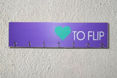 Items similar to Gymnastics Love to Flip Medal and Ribbon Display Board on Etsy Ribbon Display, Award Display, Medal Holders, Gymnastics, Hand Painted, Unique Jewelry, Handmade Gifts, Etsy, Fitness