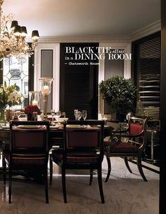 Dining room | via Krieit Associates | Bespoke Interiors