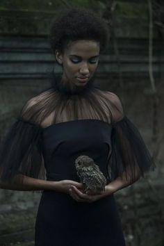 Photographer: Stephan Kotas Stylist: Candice Lewin Makeup: Tomas Moucka Model: Zohara