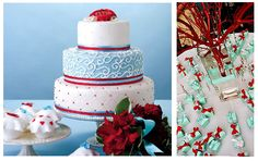 A Tiffany Blue and Red Wedding Theme - BRONZE BUDGET BRIDE - A network of mini budget brides...