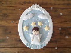 Porta maternidade oval anjo  Modelo exclusivo Ateliê Sonhos de Mimar Jun/2014  Pode ser personalizado de acordo com o quartinho  Entre em contato para augestões e idéias