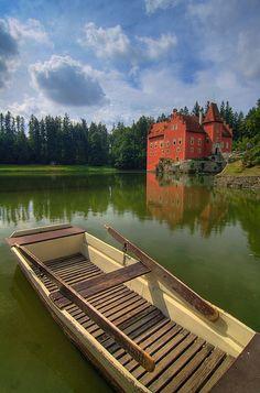 Castle Cervena Lhota | Filip Molcan | Flickr