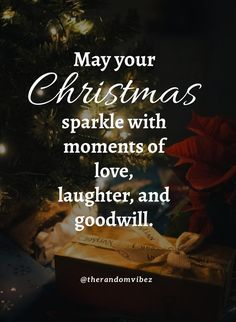 My your Christmas sparkle with moments of love, laughter, and goodwill. #Christmasquotes #Merrychristmasquotes #Shortchristmasquote #2020Christmasquote #Merrychristmas2020quotes #Christmasgreeting #Inspirationalchristmasquotes #Cutechristmasquote #Christmasquotesforfriends #Warmchristmaswish #Bestchristmasquote #Christmasbiblequotes #Christmaswishesforfamily #Funnychristmasquotes #Christmascaption #Festivechristmasquote #Merrychristmasimage #Merrychristmaspicture #Santaclausquote #therandomvibez Christmas Quotes Images, Christmas Quotes For Friends, Christmas Wishes Messages, Merry Christmas Wishes, Christmas Greetings, Christmas Humor, Christmas Time, Xmas, New Quotes