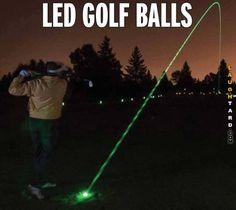 Led Golf Balls #lol #laughtard #lmao #funnypics #funnypictures #humor  #LEDGolf #golfballs
