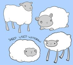 Doodlin' sheepies before sleepies