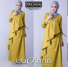 Ready bandung  Sa340 luqiana maxi Bahan balotely Ld -+ 95 Pj -+ 135 Ukuran Allsize fit L+.  Rp.105.000
